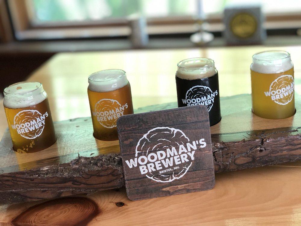 Woodman's Brewery: 195 Peaked Hill Rd, Bristol, NH