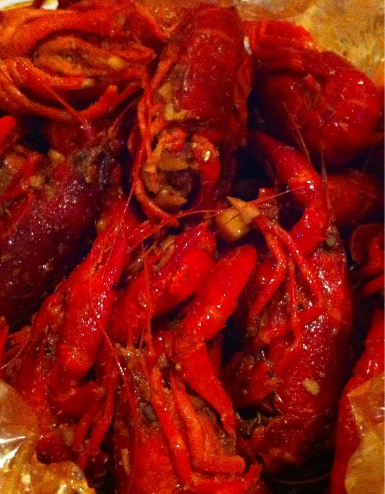 Medium Spicy Whole Shebang Crayfish Yelp