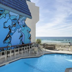 Photo Of Blue Sea Beach Hotel San Go Ca United States Mural