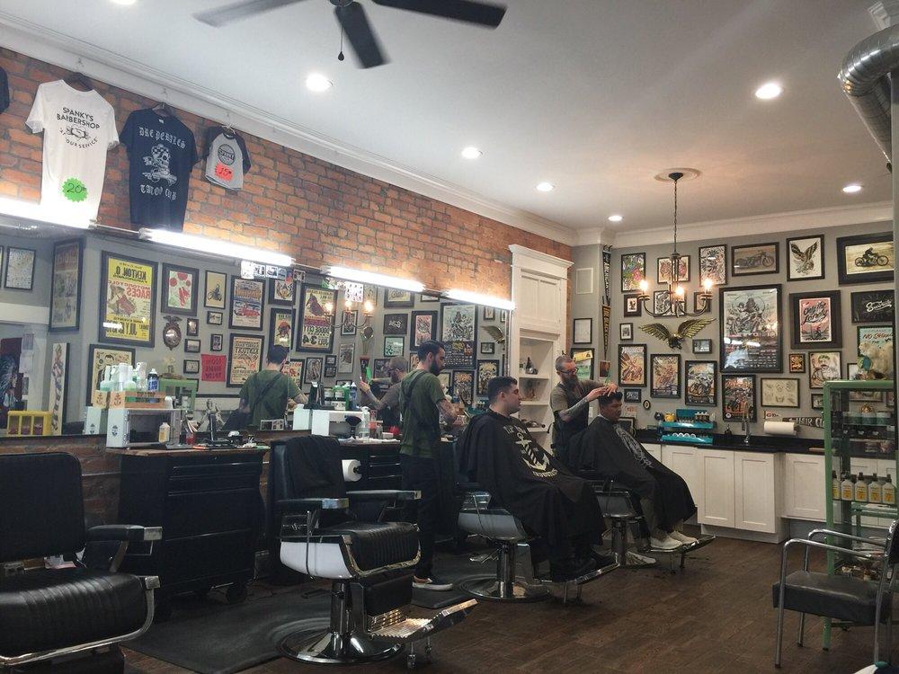 Spanky's Barbershop: 439 W 12th St, Newport, KY