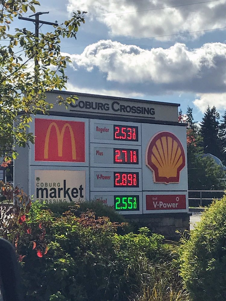 Shell: 32910 E Pearl St, Coburg, OR