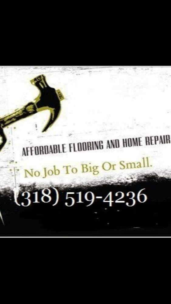 Affordable Flooring and Home Repair Services: 10609 Stacy Landing Rd, Vivian, LA