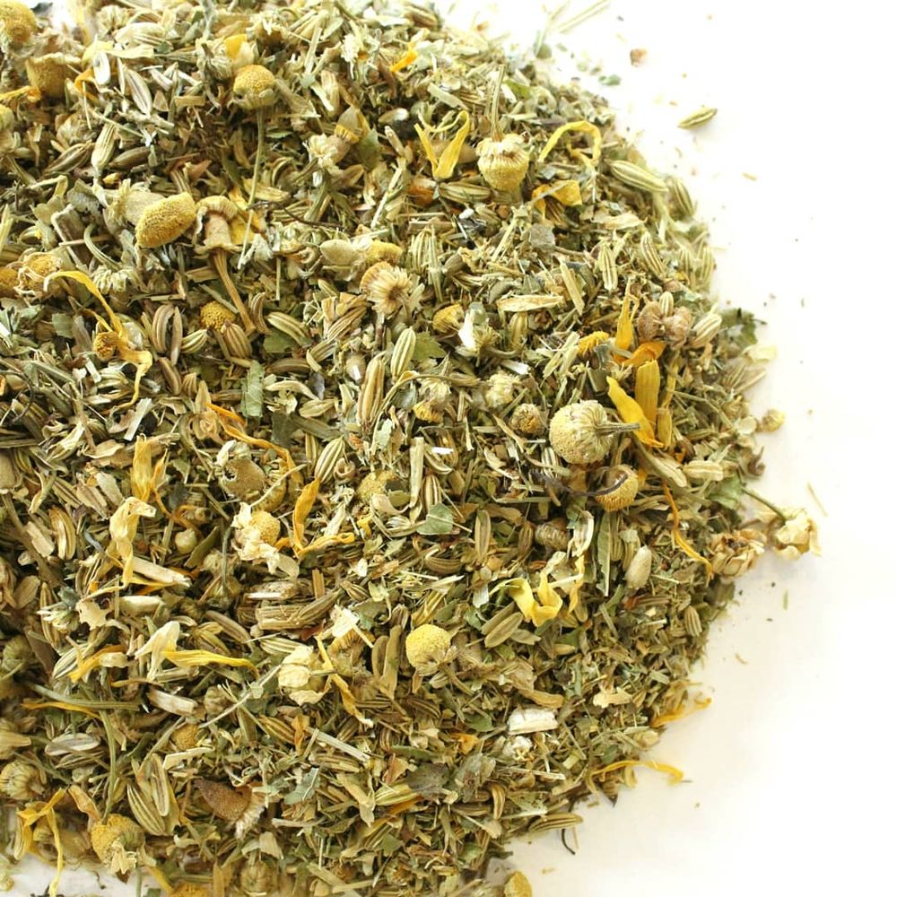 Dream Tea Blend lemon verbena, fennel, wild lettuce, nutmeg