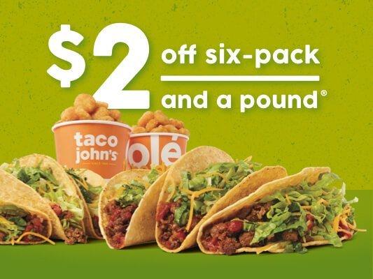 Taco John's: 850 N Broadway, Peru, IN