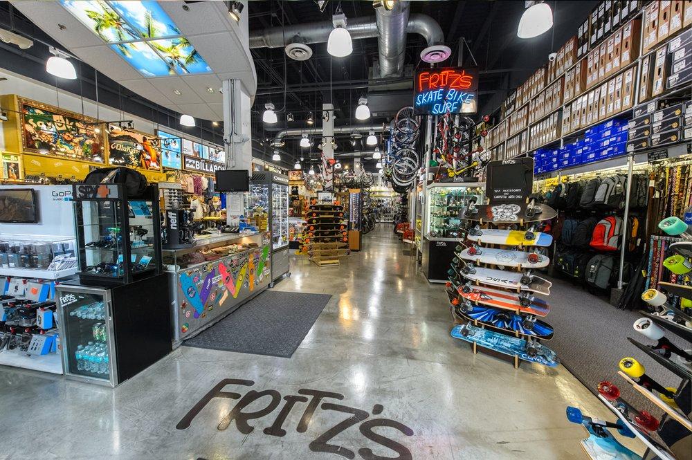 Fritz's Skate Bike & Surf: 1620 Washington Ave, Miami Beach, FL