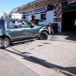 Denver Tires Shop Closed Tires 4690 East Colfax Ave Park Hill