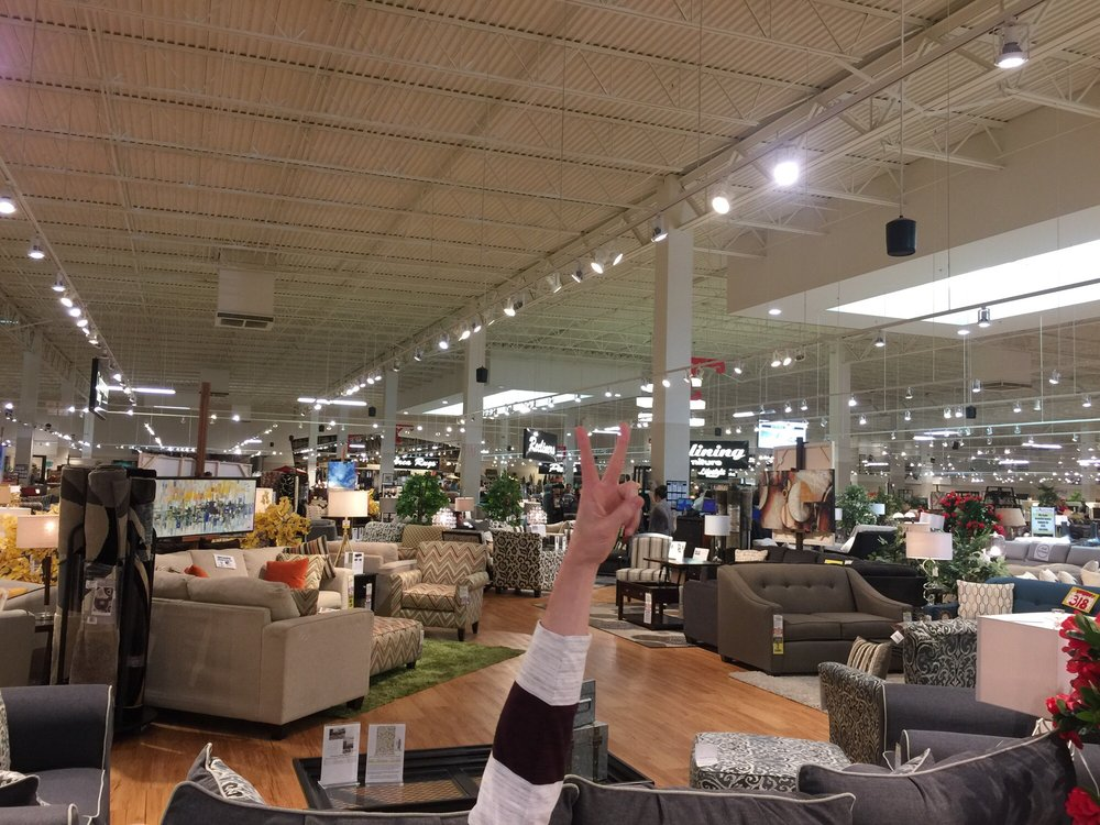 There 39 s plenty of furniture to test out yelp for All american furniture warehouse