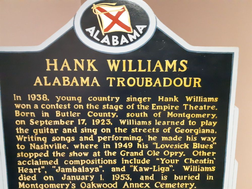 Social Spots from Hank Williams Museum