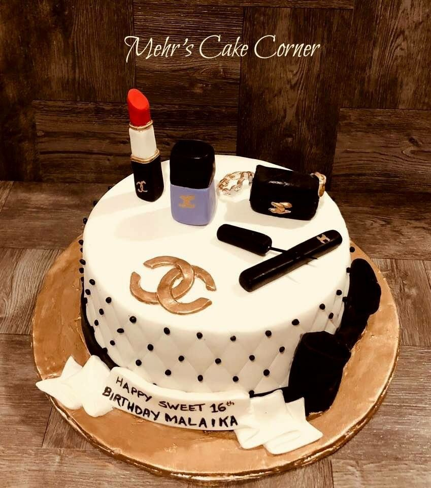 Chanel Inspired Cake Yelp