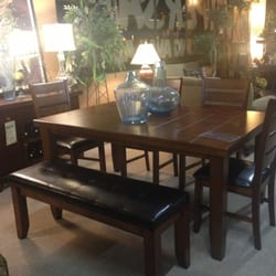 Photo Of Prestige Furniture   Livermore, CA, United States. Real Wood  Veneer Table
