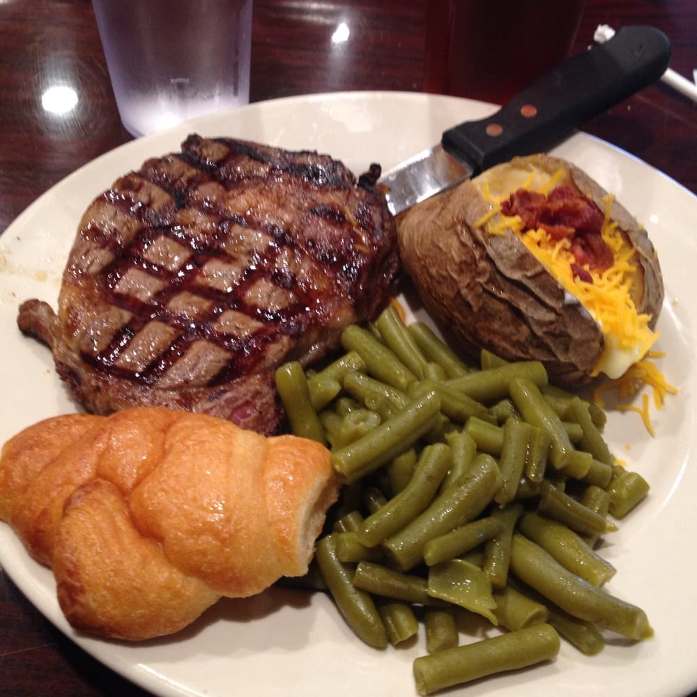 Photo Of Pickles Restaurant Edmond Ok United States A Delicious Ribeye Steak