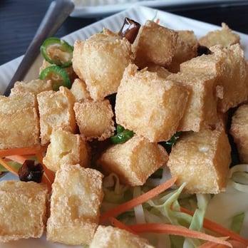Photo Of Enjoy Vegetarian Restaurant San Francisco Ca United States Fried Tofu