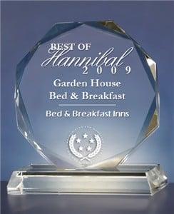 Garden House Bed & Breakfast: 301 N 5th St, Hannibal, MO