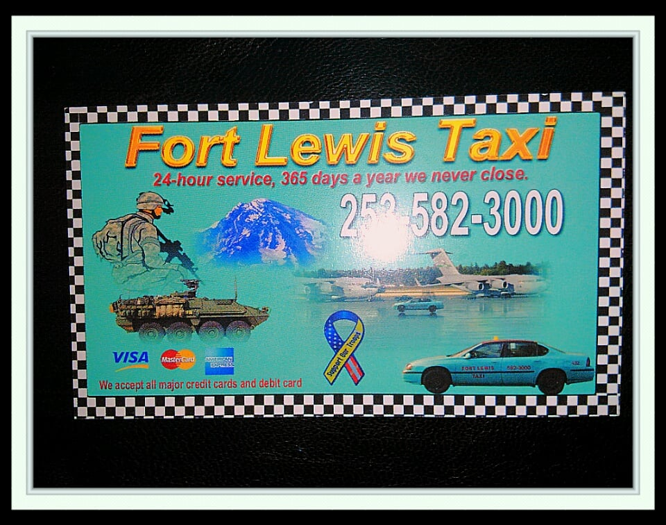 Fort Lewis Taxi Service: 10202 Lakeview Ave SW, Lakewood, WA