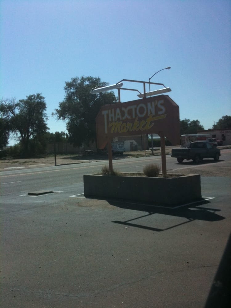 Thaxton's Market: 117 Bent Ave, Las Animas, CO