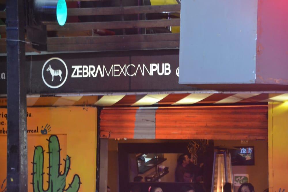 Resultado de imagen para zebra mexican pub