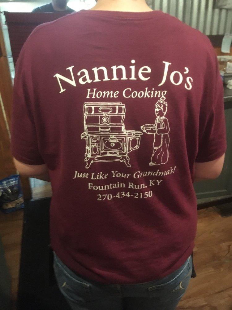 Nannie jo's: 219 Main St, Fountain Run, KY