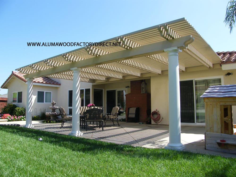 Alumawood Patio Cover, Laguna Lattice. Mission Viejo