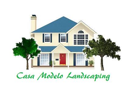 Casa Modelo Landscaping