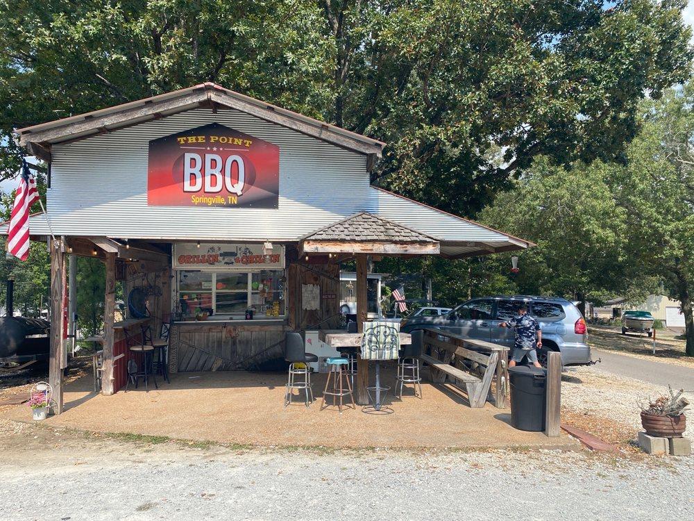 The Point Bbq: 45 Lakeshore Dr, Springville, TN