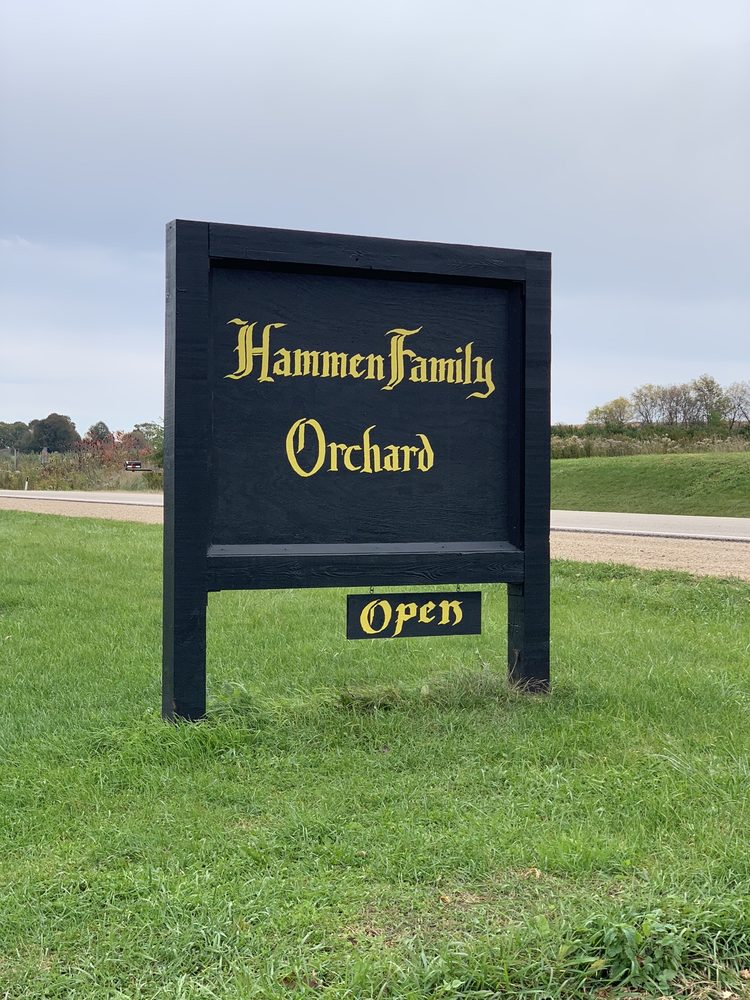 Hammen Family Orchard, Winery and Cider mill: W4794 County Rd E, Bonduel, WI