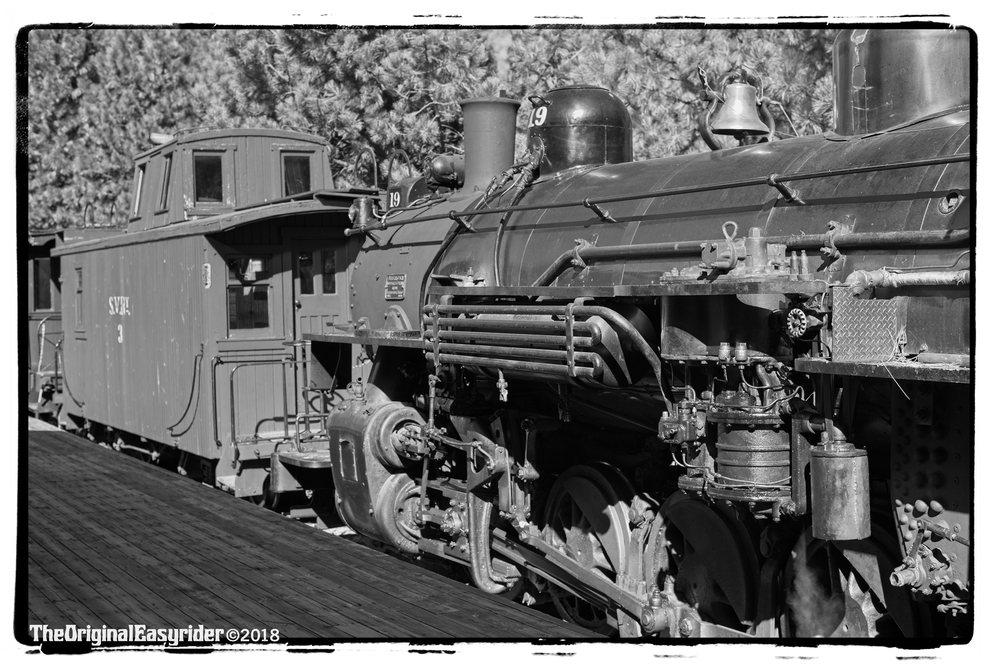 Sumpter Valley Railroad: 12259 Huckleberry Loop Rd, McEwen, OR