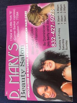 Drys Beauty Salon 17904 W Little York Rd Houston Tx Hair Salons