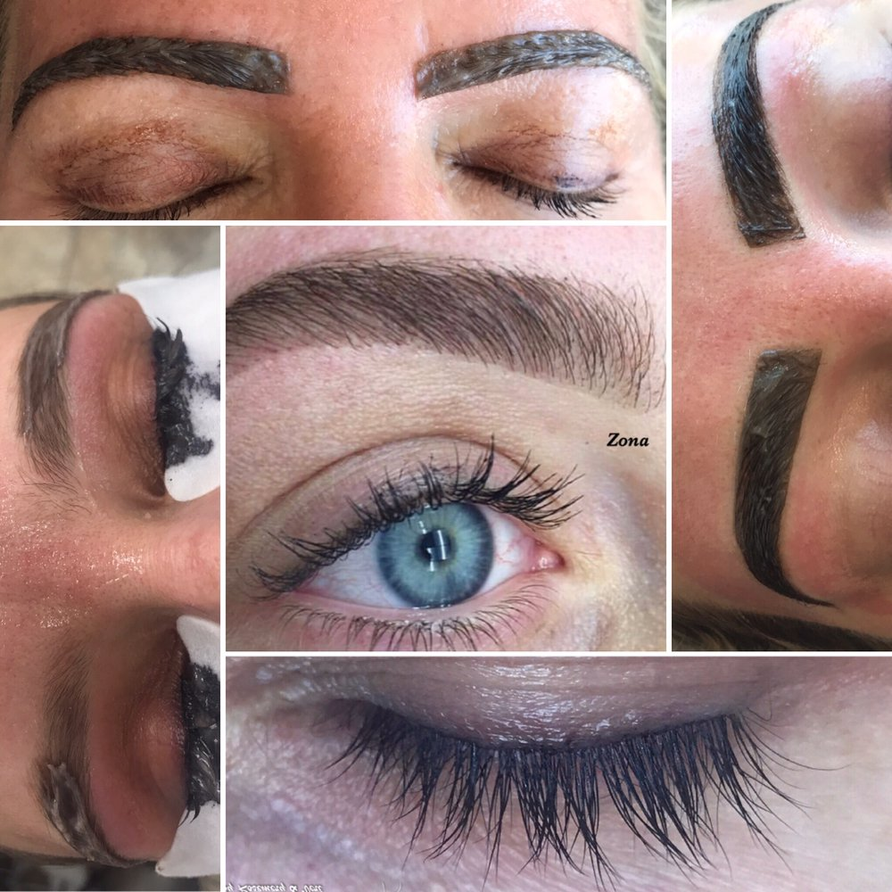 Lash And Brow Ombr Tinting Available With Vegetable Dye Yelp