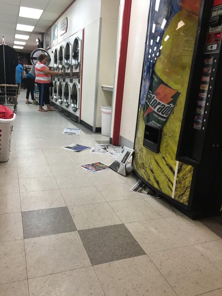 Sudz coin laundry 19 reviews laundromat 1324 e for Chapman laundry