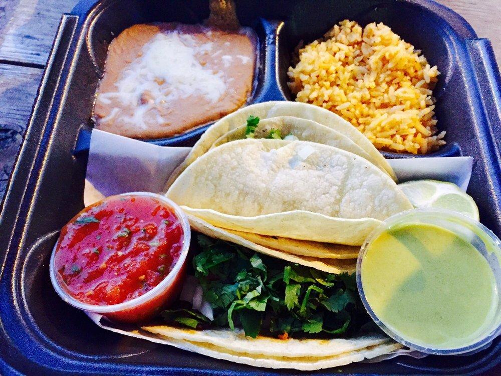 Food from Nacho Taco