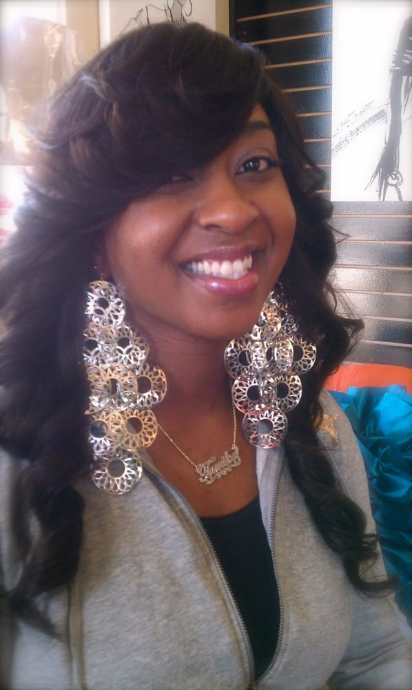 Full sew in weave on african american hair with brazilian wavy photo of hair phenatiks san diego ca united states full sew in pmusecretfo Image collections