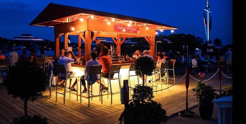 Deck at Dockside: 20 Harris Island Rd, York, ME
