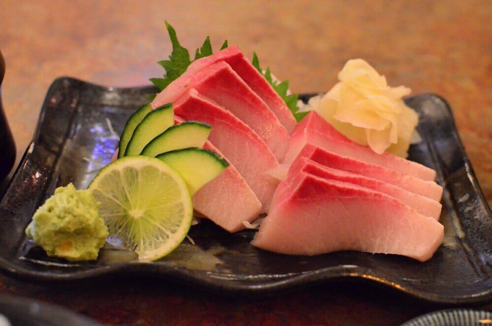 yellowtail sashimi calories - 1000×662