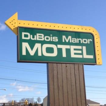 Photo Of Dubois Manor Motel Du Bois Pa United States Sign