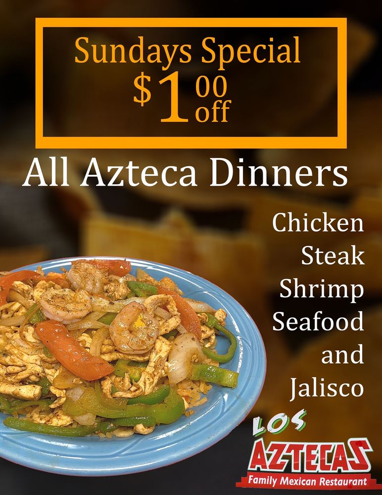 Los Aztecas Mexican Restaurant: 234 Highway 65 N, Marshall, AR
