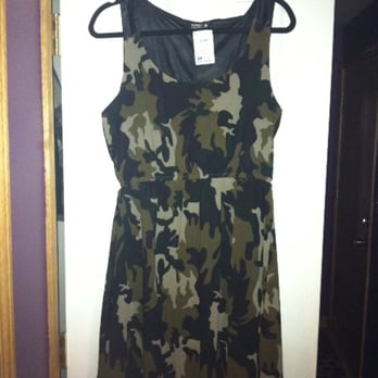 Camouflage Dresses for Less