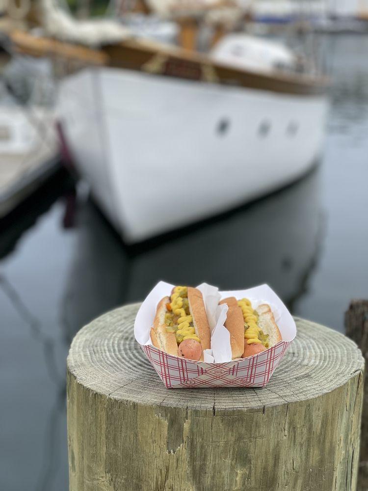 Harbor Dogs: 1 Public Lndg, Camden, ME