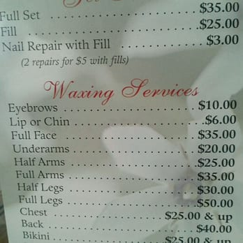 Spa waxing prices / Blueprint furniture los angeles ca