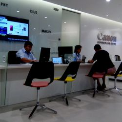 High Quality Photo Of Canon Customer Care Services   Singapore, Singapore. Front Desk
