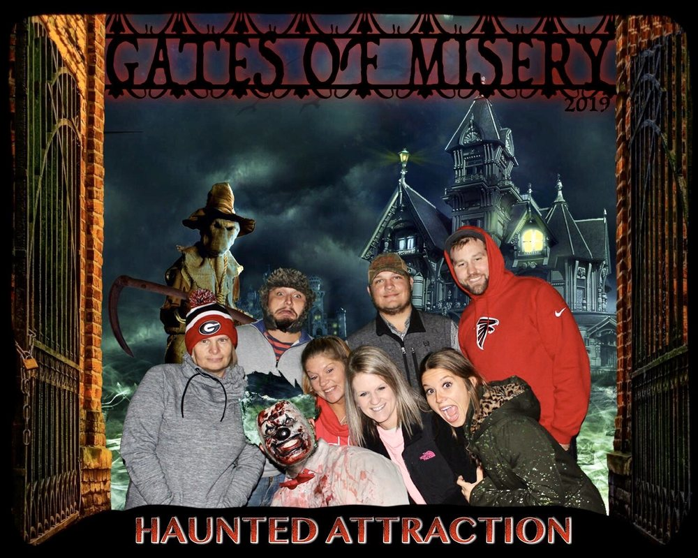 Social Spots from Gates of Misery Haunted House