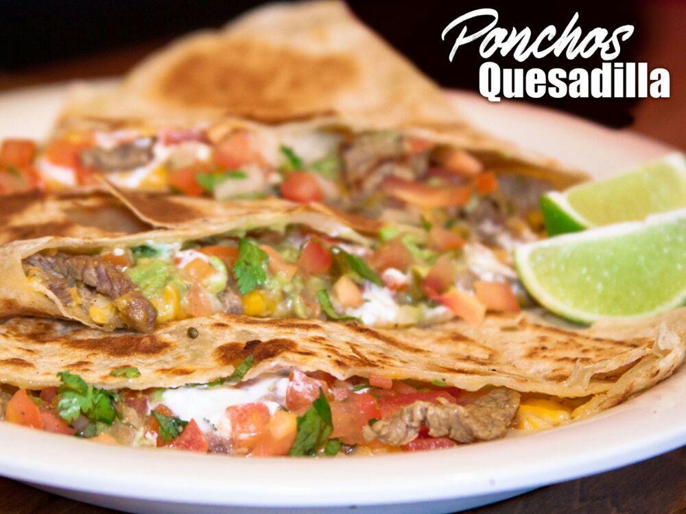 Poncho S Mexican Food Rancho San Diego Menu