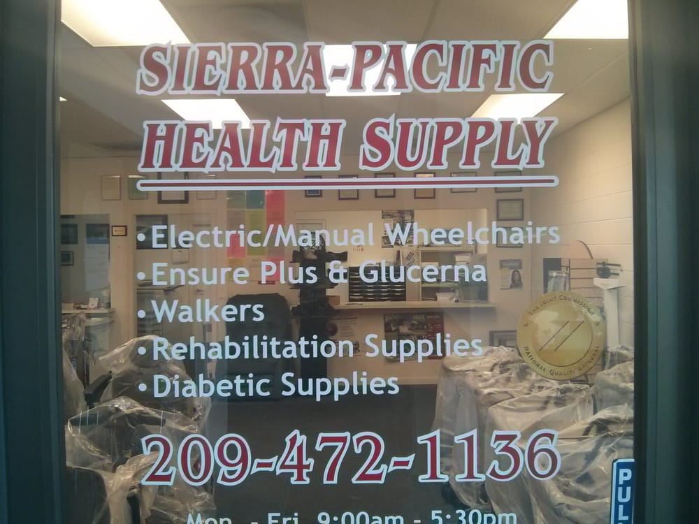 Sierra Pacific Health Supply: 4873 West Ln, Stockton, CA