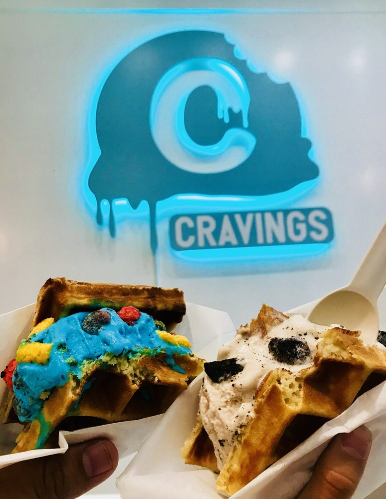 Cravings Ice Cream: 9429 Alondra Blvd, Bellflower, CA