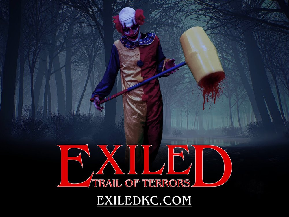Exiled -Trail of Terrors: 12829 Loring Rd, Bonner Springs, KS
