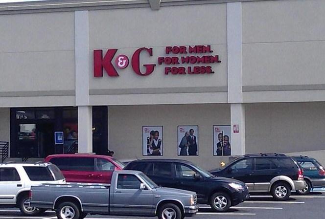 K&g clothing stores