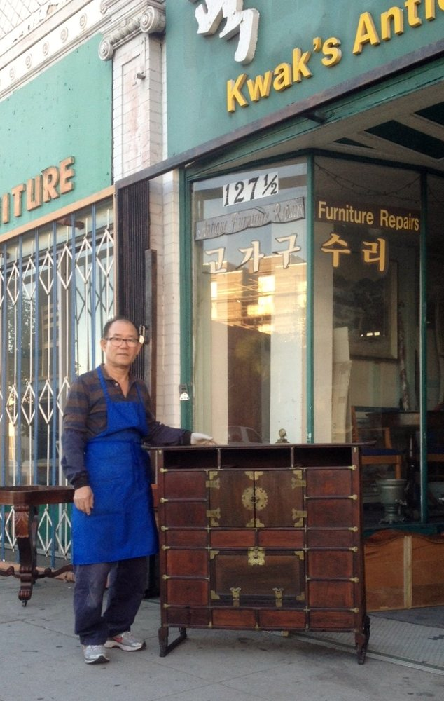 Kwak's Antique Furniture: 125 S Western Ave, Los Angeles, CA