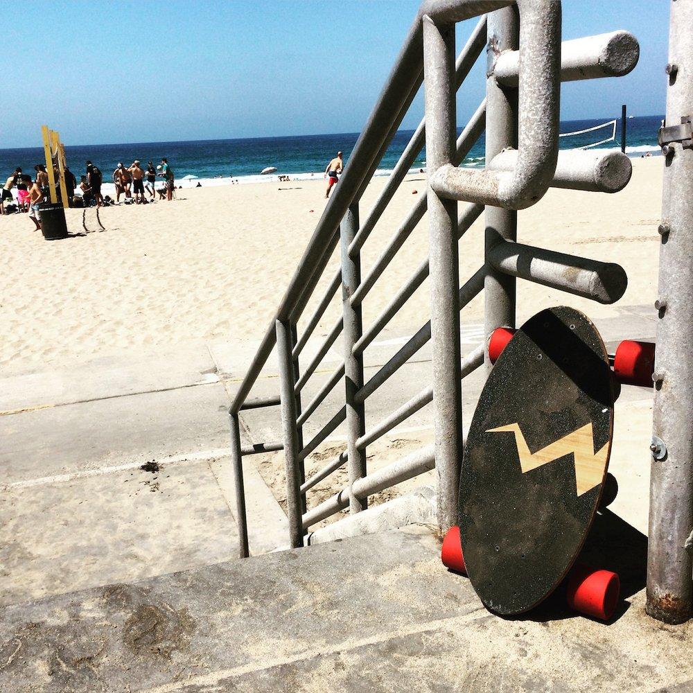 Eggboards Mini Longboards: 51 Ozone Ave, Venice, CA