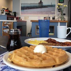 Photo Of Lighthouse Restaurant Michigan City In United States Great Breakfast Before