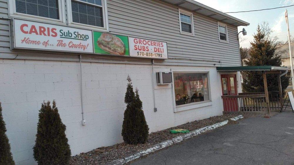 Caris Sub Shop: 524 E Main St, Lock Haven, PA