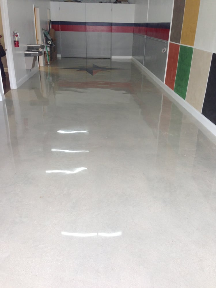 Polished Concrete Floor At Nike In Lincoln Rd And Lennox Ave Miami Beach Yelp